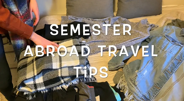 Semester Abroad Packing Tips